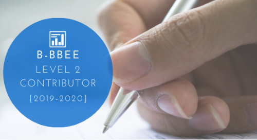 B-BBEE Level 2 Contributor [2019-2020]