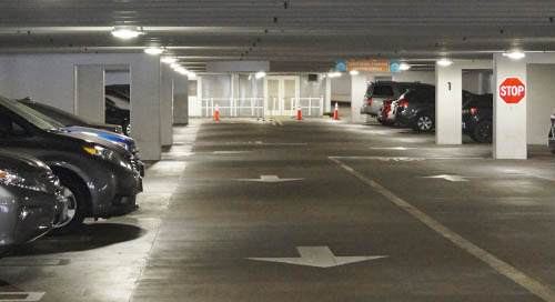 Parkpak LED Enhances San Jose's Parking Garage and Bottom Line