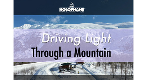 Driving Light Through a Mountain