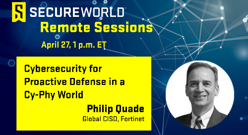 Cybersecurity for Proactive Defense in a Cy-Phy World