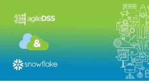 agileDSS signe un partenariat avec Snowflake