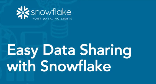 Data Sharing in action, unlock all the potential of your data