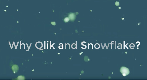 Snowflake Usage Dashboard - Qlik Sense
