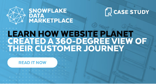 Website Planet: Improving Marketing Analytics with Snowflake and iKnowlogy
