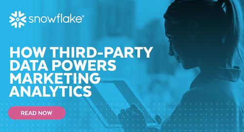 How Third-Party Data Powers Marketing Analytics