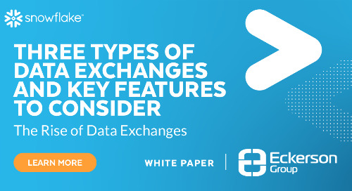 The Rise of Data Exchanges Frictionless Integration of Third-Party Data