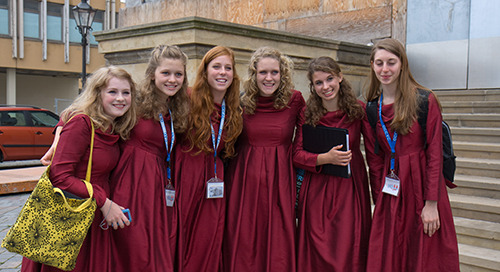 13 Ways You Know You're on a Choir Tour