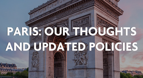 Paris: Our Thoughts & Updated Policies