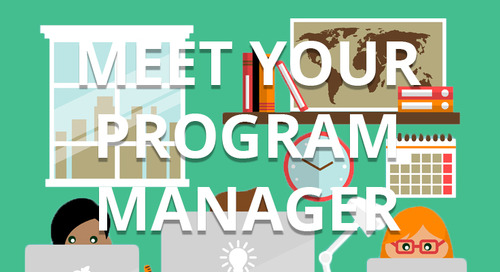 Getting Started Step 4: Working with Your Program Manager