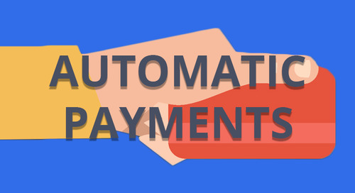 Sign Up For Automatic Payments - Win a FREE Trip!