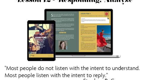 Lesson Plan 12/13: Responding - Analyze & Interpret - Teaching the Core Music Standards