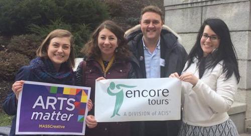 Arts Matter Advocacy Day 2017 Encore Tours Recap