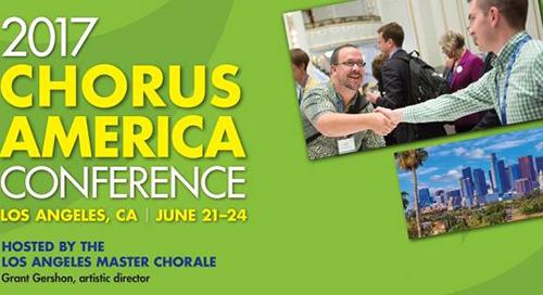 Chorus America Conference 2017 Recap
