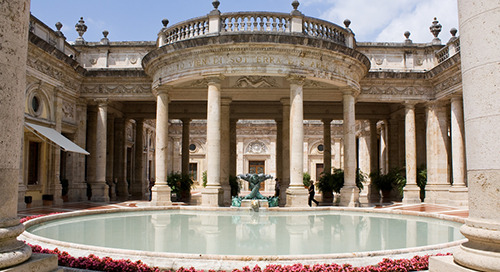 Terme Tettuccio: Picturesque Venue for Orchestra Tours in Montecatini, Italy