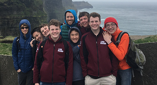 Performance Tour Spotlight: Lebanon High School Band in Ireland