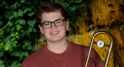 Meet Scholarship Recipient Spencer Meneghini