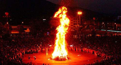 Musical Celebrations Around the World - Chinese Torch Festival