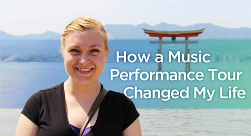 Kate's Performance Tour to China & Japan: A trip that set a path for life
