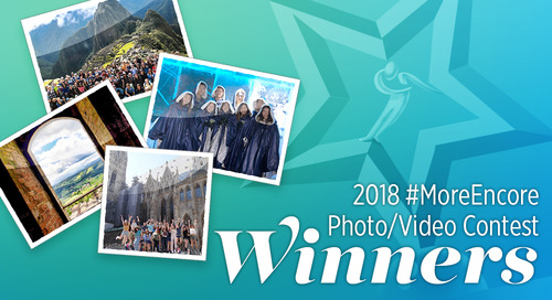 Announcing the Winners of the 2018 #MoreEncore Passenger Photo Contest