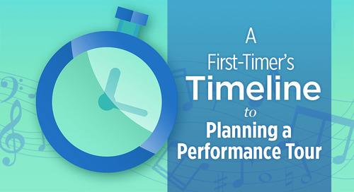 A First-Timer's Timeline for Planning a Performance Tour