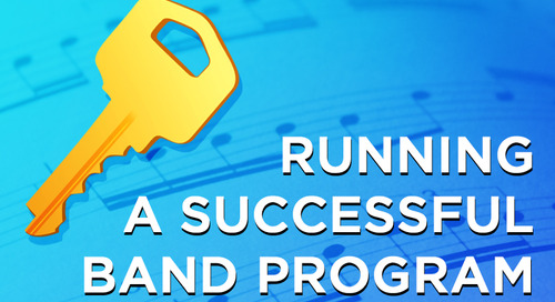 The Key to Running a Successful Band Program
