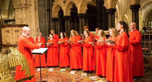 Encore Tours Presents the Choir of Christ Church Cathedral Dublin: First-Ever Concert in Boston