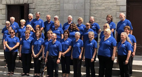 Encore Tours Spotlight: Trinity United Methodist Chancel Choir Canada Tour
