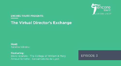 Virtual Director's Exchange - Episode 3 (Ft. David Grandis and Arnaud Schotte)