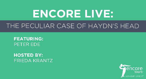 Encore Live: The Peculiar Case of Haydn's Head