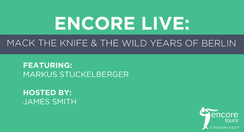 Encore Live: Mack the Knife and the Wild Years of Berlin (Part 1)