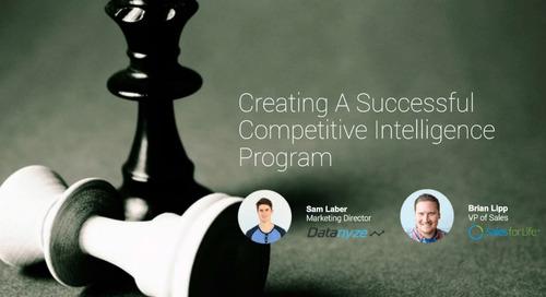 [Webinar] Creating A Successful Competitive Intelligence Program