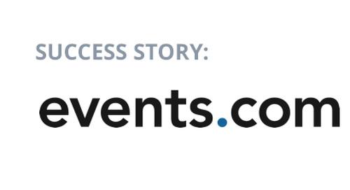 Events.com Hits 200% of Quota First Quarter Using Datanyze