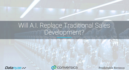 Will A.I. Replace Traditional Sales Development?