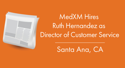 MedXM Hires Ruth Hernandez as Director of Customer Service