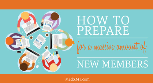 How to Prepare for a Massive Amount of New Members