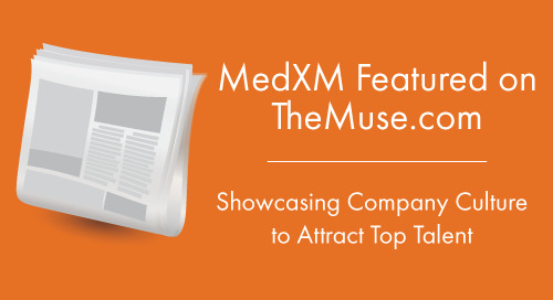 MedXM Featured on TheMuse.com