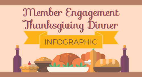 Member Engagement Thanksgiving Dinner Infographic