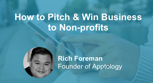 How To Pitch and Win Business to Non-profits [Webinar]
