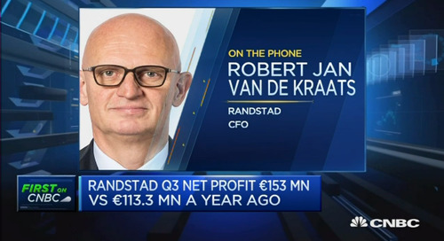 market growth anticipated for US and Europe: Randstad CFO