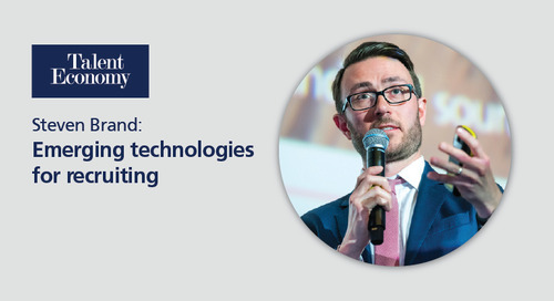 Talent Economy: emerging technologies for recruiting