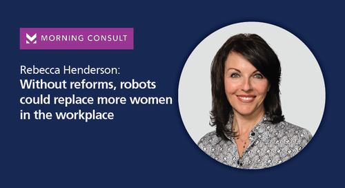 without reforms, robots could replace more women in the workplace