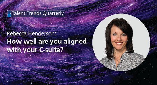 how well are you aligned with your C-suite?