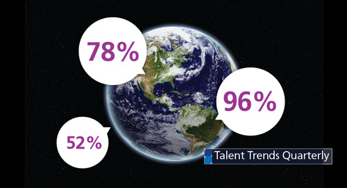 Talent Trends: interactive map