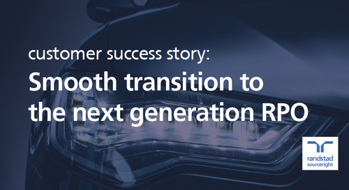 global automotive leader makes transition to next generation RPO