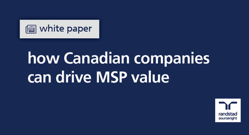 white paper: how Canadian companies can drive MSP value
