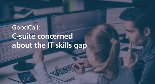 GoodCall: C-suite concerned about the IT skills gap