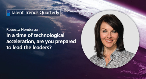 in a time of technological acceleration, are you prepared to lead the leaders?