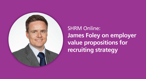 SHRM Online: employer value proposition and recruiting strategy