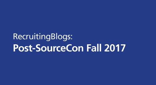 RecruitingBlogs: post-SourceCon Fall 2017
