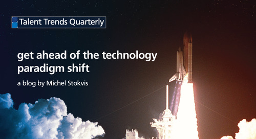 get ahead of the technology paradigm shift